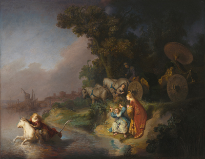 Rembrandt. El rapto de Europa. 1632. Imagen digital cortesía del Getty's Open Content Program, The Paul Getty Museum