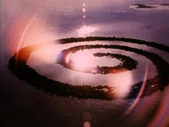Robert Smithson. <em>Spiral Jetty</em>, 1970