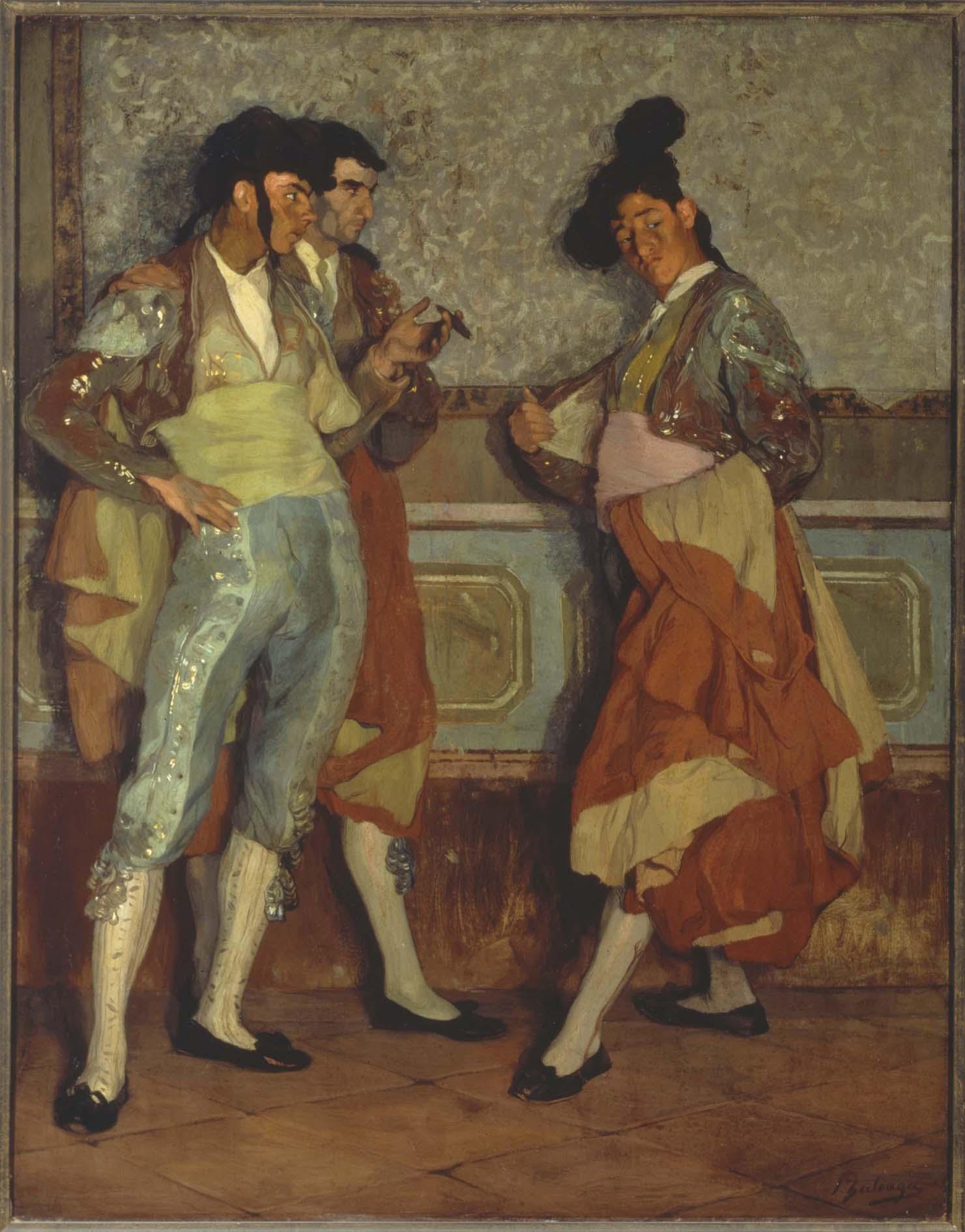 Exposici 243 N Pinturas De Zuloaga En Las Colecciones Del