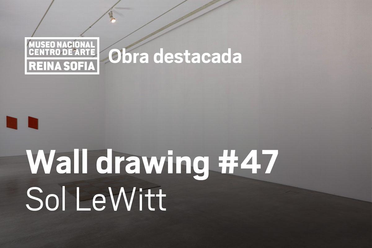 Wall drawing #47 Sol LeWitt