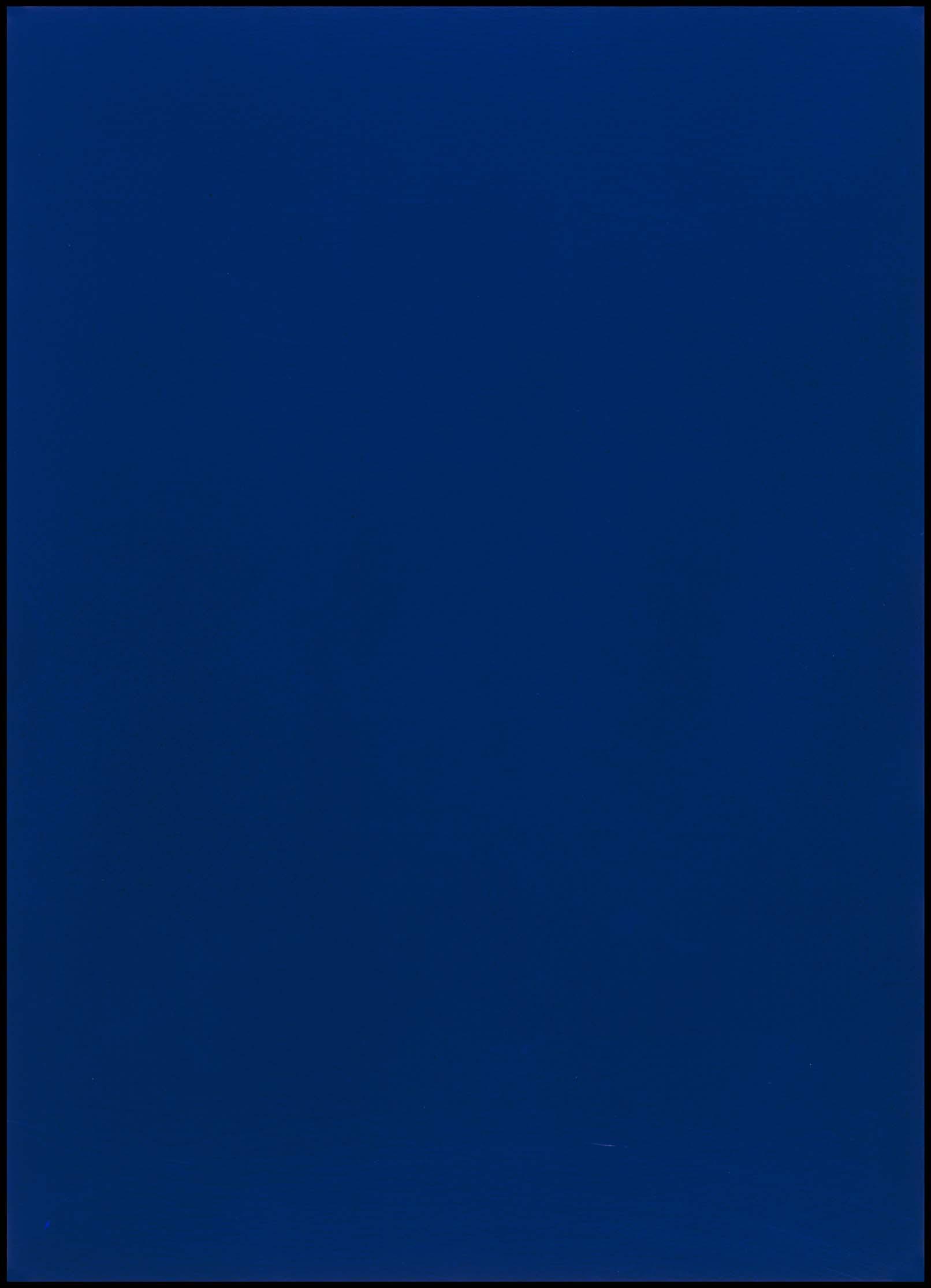 Home Entry Yves Klein Sin T 237 Tulo Monocromo Azul Ikb 181 Untitled