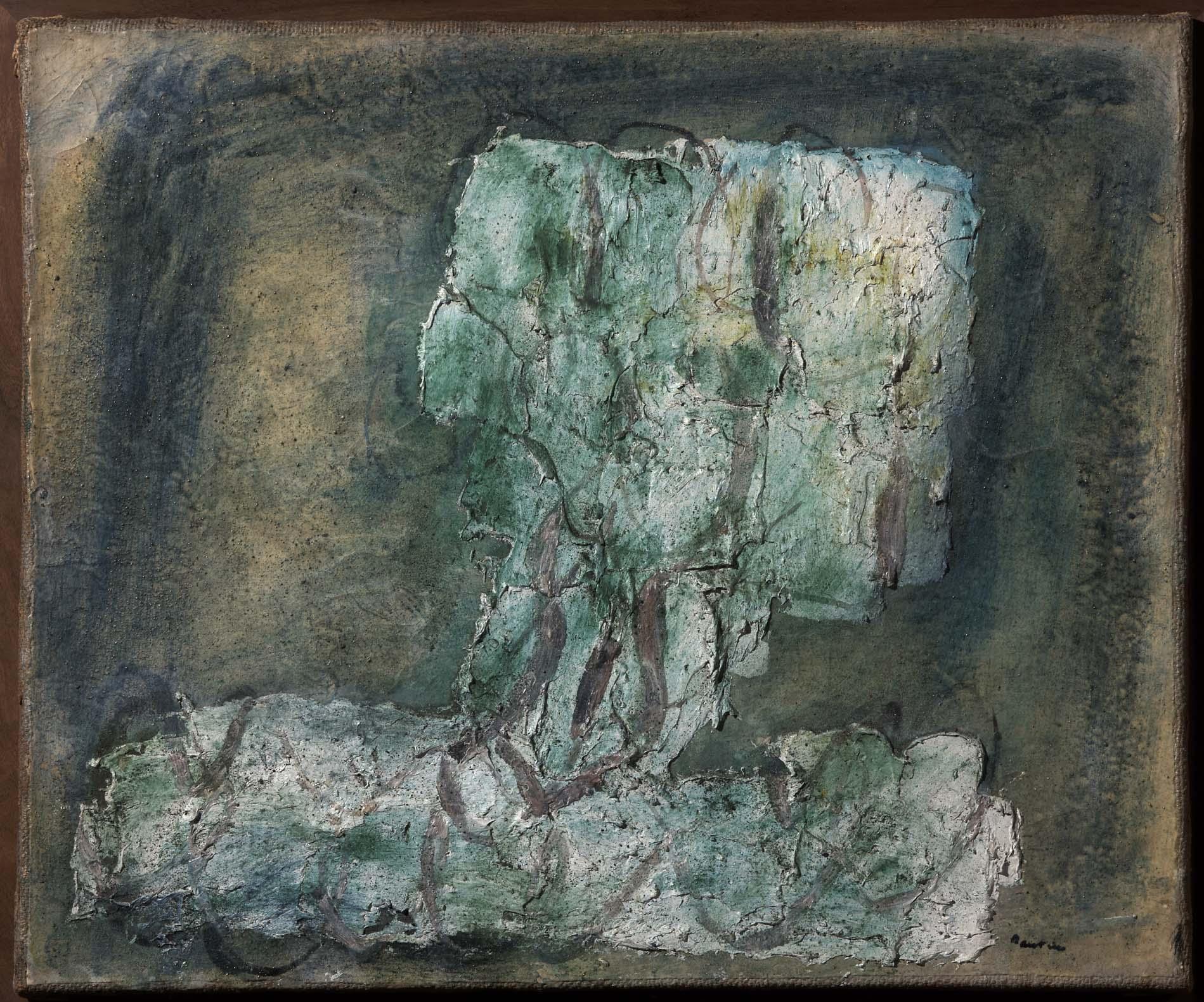 Jean fautrier l 39 arbre vert el rbol verde for Minimal art obras y autores