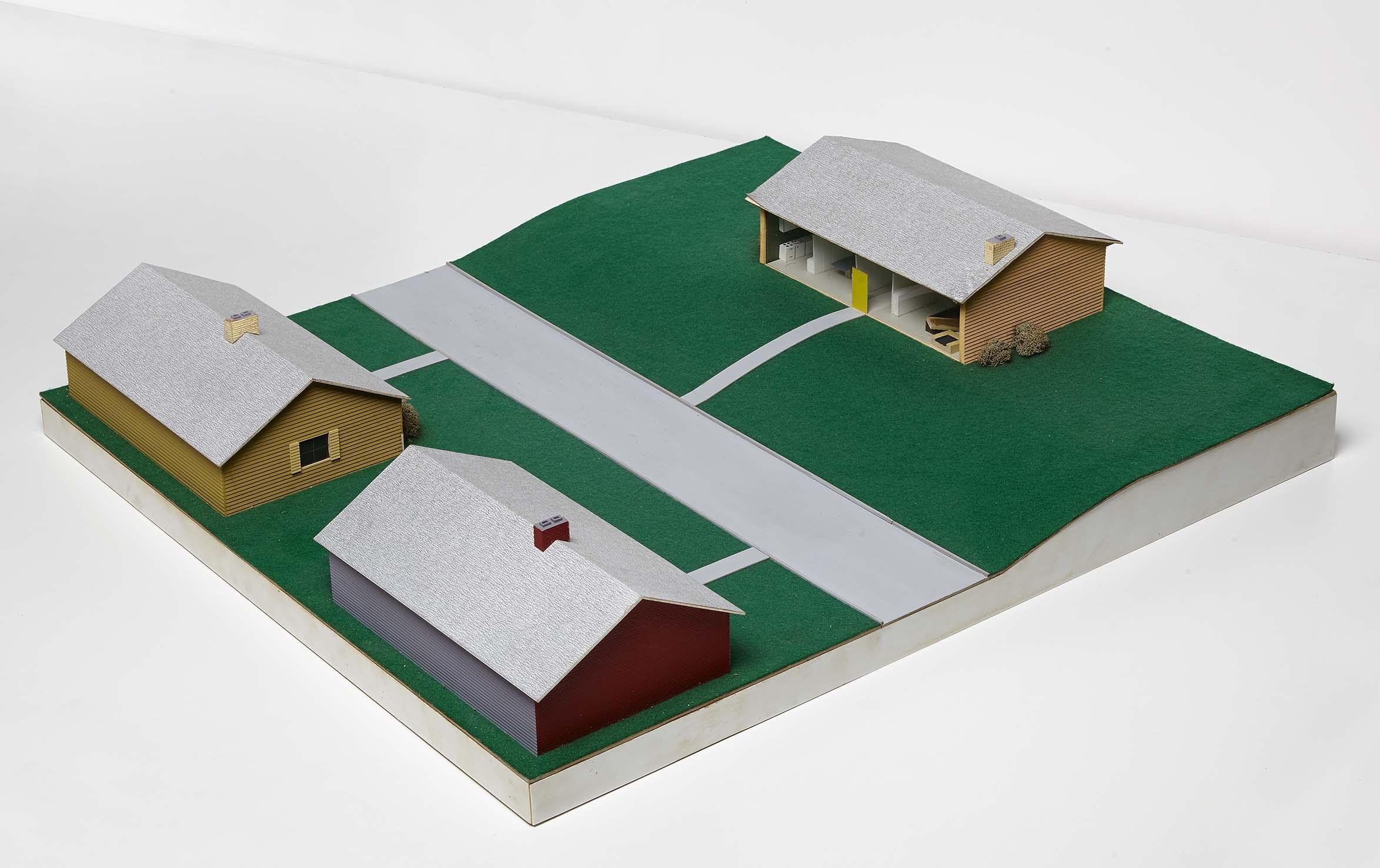 dan graham alteration to a suburban house