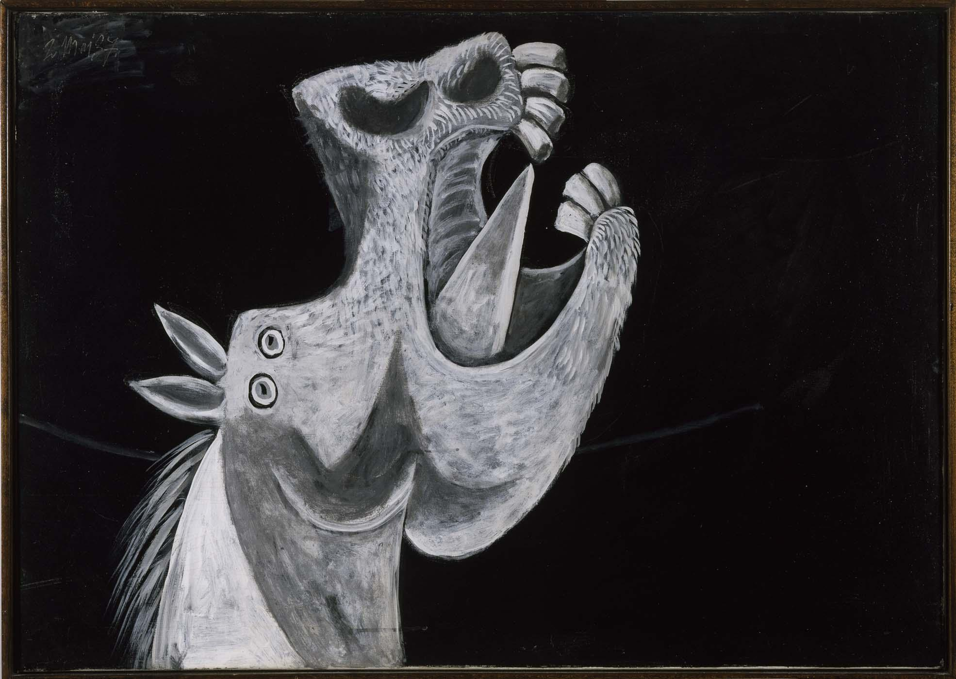 pablo picasso pablo ruiz picasso cabeza de caballo