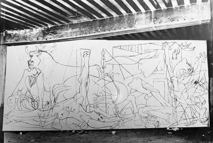 Picasso Guernica Sketches Dora Maar (Henriette T...