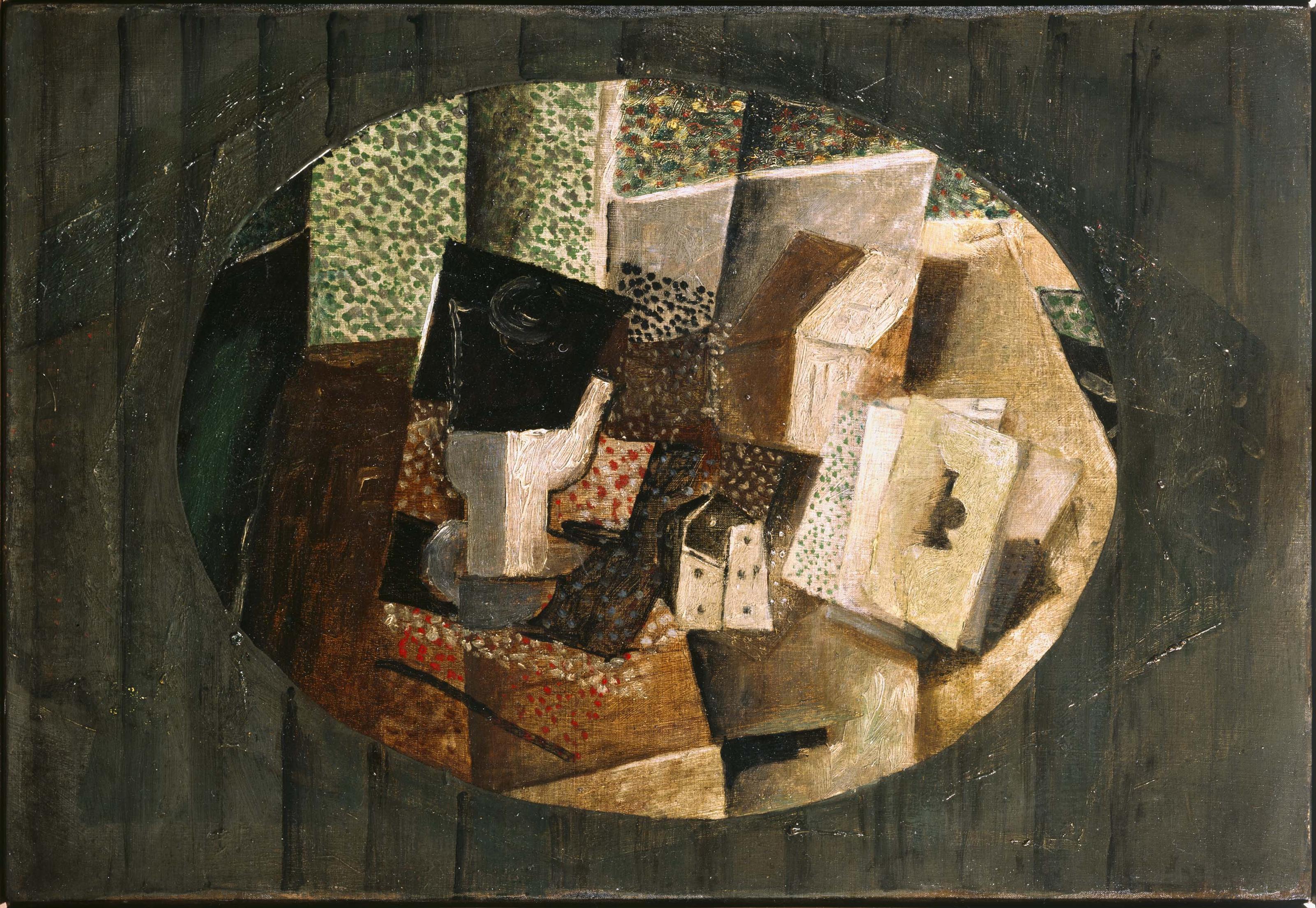 Georges Braque - Cartes et dés (Cards and Dice)