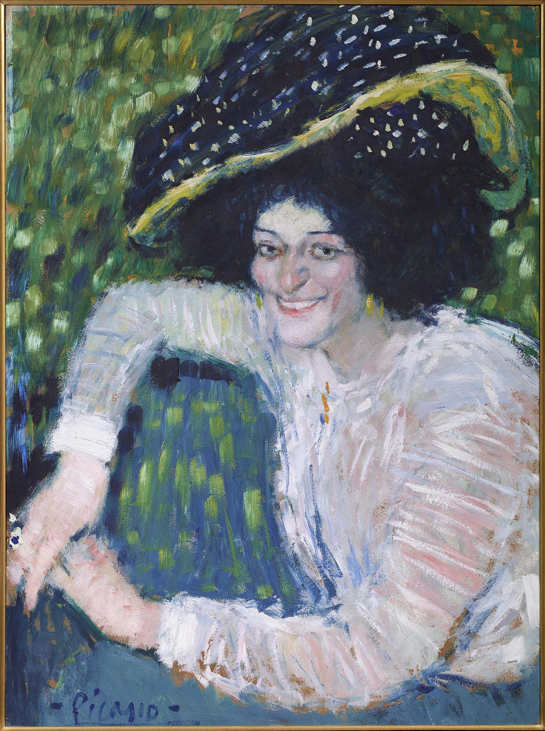 Pablo Picasso (Pablo Ruiz Picasso) - Buste de femme souriante (Bust ...