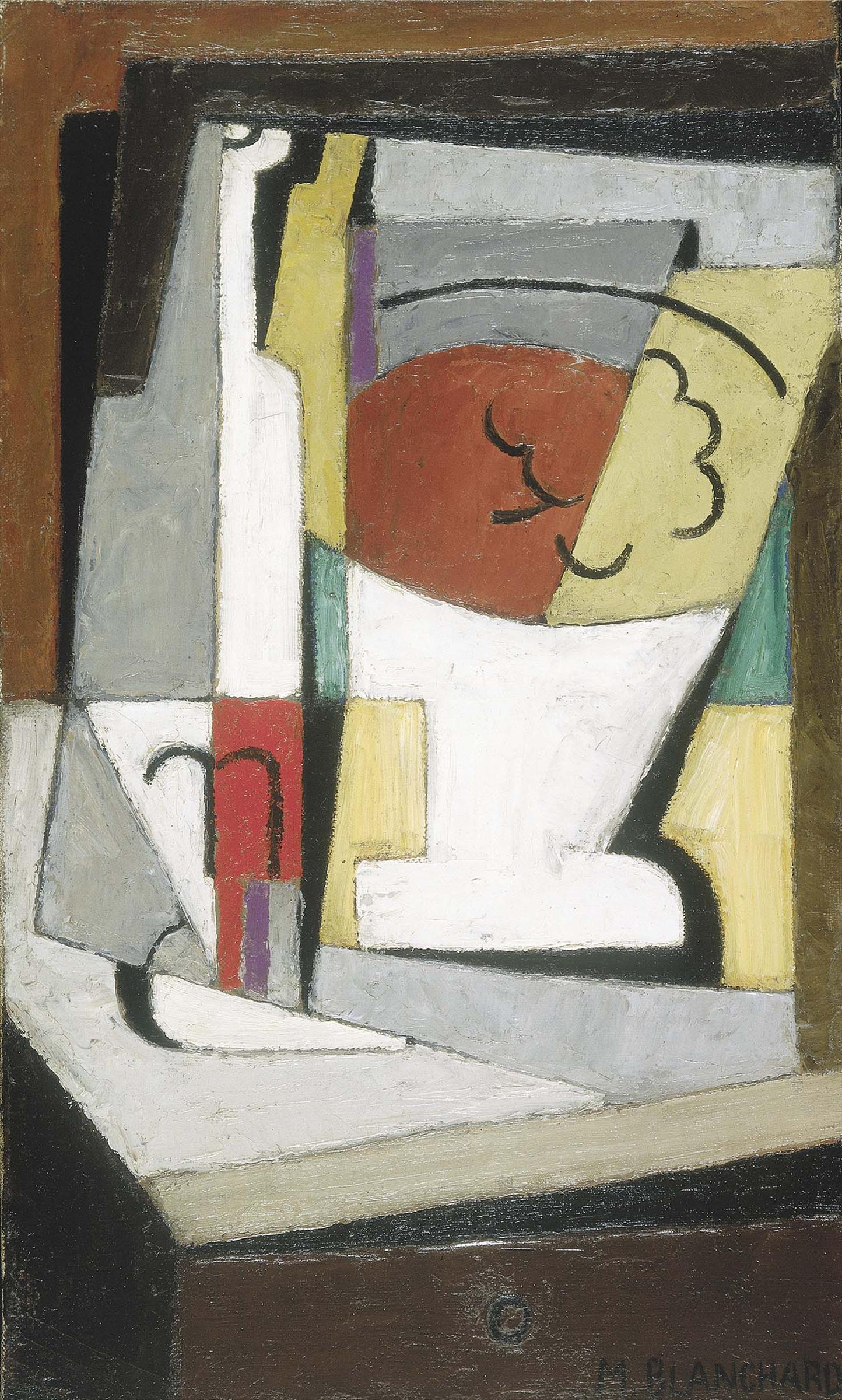 Long Term Loan >> María Blanchard (María Gutiérrez Blanchard) - Nature morte cubiste (Cubist Still Life)