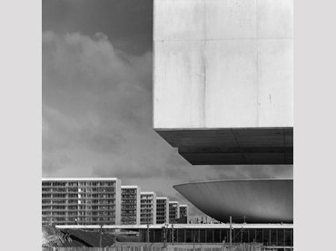 Brasília under construction. Photography, 1959
