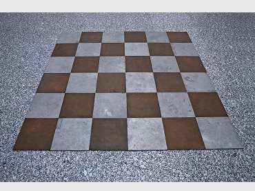 Carl Andre, Magnesium Copper Plain, 1969. Sculpture. Museo Nacional Centro de Arte Reina Sofía Collection, Madrid
