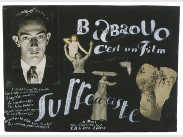 Babaouo is a surrealist film, 1932. Collage for the film's poster. © Salvador Dalí. Fundació Gala – Salvador Dalí, VEGAP, Madrid, 2013