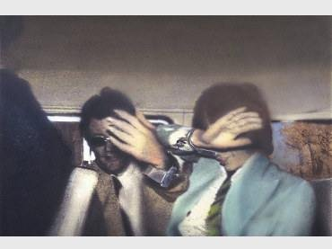 Richard Hamilton. Swingeing London 67. Litografía, 1968-69. © R. Hamilton. All Rights Reserved, VEGAP, Madrid, 2014