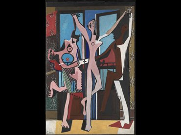 Pablo Picasso. The Three Dancers, 1925. Oil on canvas. Tate, London © Succession Picasso/VEGAP, Madrid, 2017