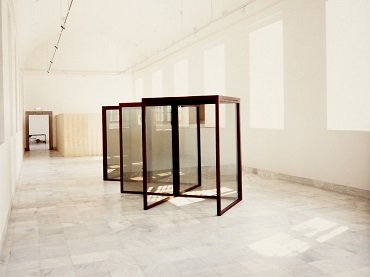 Exhibition view. Dan Graham, 1987