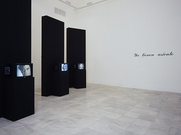 Exhibition view. Marcel Odenbach, 1988