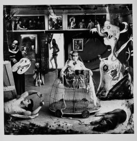 Joel-Peter Witkin. Las Meninas (Self-Portrait after Velázquez), 1987. Photography. Museo Nacional Centro de Arte Reina Sofía Collection, Madrid