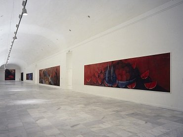 Exhibition view. Rufino Tamayo. Paintings, 1988