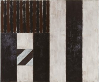Sean Scully. Black Robe, 1987. Painting. Museo Nacional Centro de Arte Reina Sofía Collection, Madrid