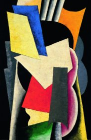 Liubov Popova. Painterly Architectonic (Still Life: Instruments), 1915. Oil on canvas. Museo Thyssen-Bornemisza, Madrid