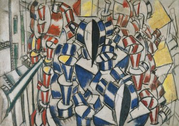 Fernand Léger. The Staircase (Second State), 1914. Oil on canvas. Museo Thyssen-Bornemisza, Madrid