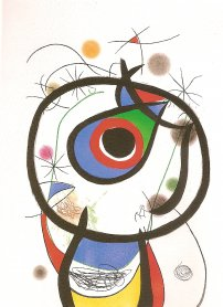 Joan Miró. Galathée, 1976. Graphic Art. Museo Nacional Centro de Arte Reina Sofía Collection, Madrid