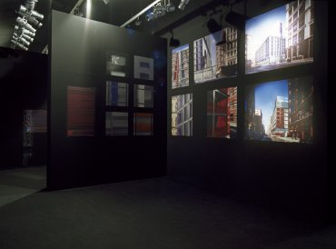 Exhibition view. Jean Nouvel, 2002