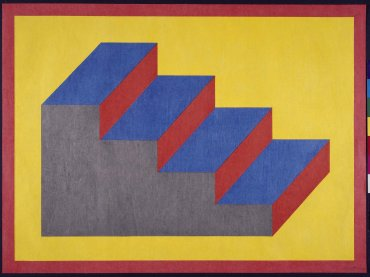 Sol LeWitt. From Derived from a Cubic Rectangle (steps), 1992. Arte gráfico. Colección Museo Nacional Centro de Arte Reina Sofía, Madrid