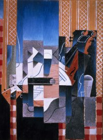 Juan Gris. Violon et guitare (Violin and Guitar), 1913. Painting. Museo Nacional Centro de Arte Reina Sofía Collection, Madrid