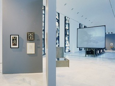Exhibition view. ¿Buñuel! The Eye of the Century, 1996