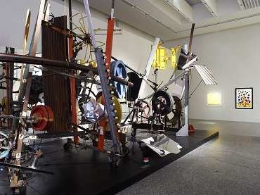 Exhibition view. The Kinetic[s], 2007
