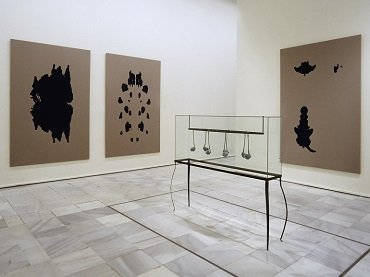 Exhibition view. German Art 1960-2000. The Grothe Collection, 2000
