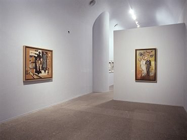 Exhibition view. Hannah Höch, 2004