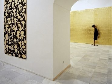 Exhibition view. Kounellis, 1996
