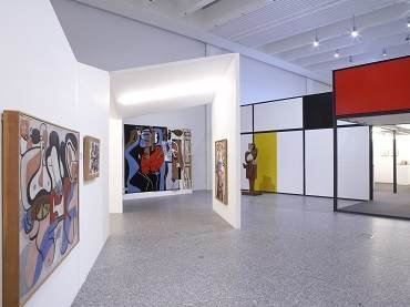 Exhibition view. Le Corbusier. Museum and collection Heidi Weber, 2007