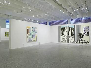 Exhibition view. Roy Lichtenstein. All about art, 2004