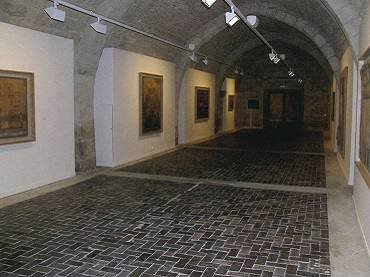 Exhibition view. Lucio Muñoz en Silos, 2006