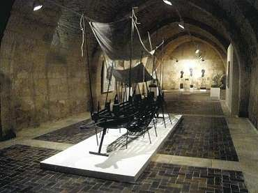 Exhibition view. Mascaró at Silos, 2008