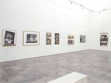Exhibition view. Gordon Matta-Clark, 2006