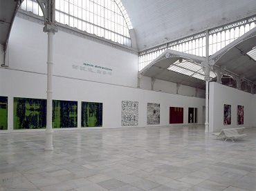 Exhibition view. New Abstractions, 1996