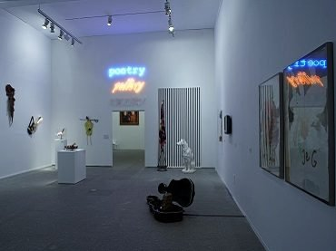 Exhibition view. Carlos Pazos. Don't tell me anything, 2007