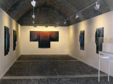Exhibition view. Manuel Rivera en Silos, 2005