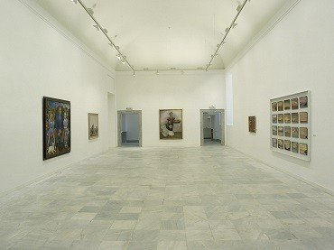 Exhibition view. Diego Rivera. Retrospective, 1987