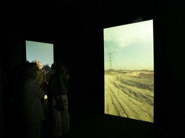 Exhibition view. Montserrat Soto. Tracking Madrid, 2005