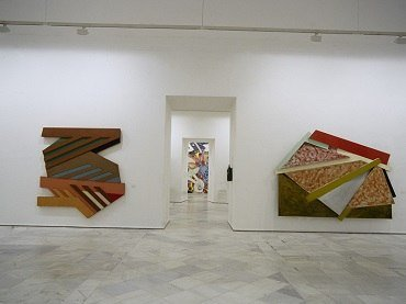 Exhibition view. Frank Stella, 1995
