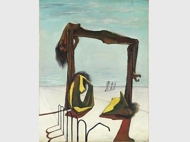 Ramses Younan. Untitled, 1939. Oil on canvas