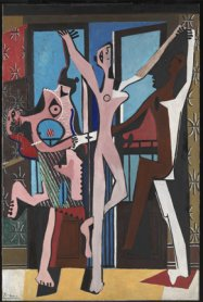 Pablo Picasso. <em>The Three Dancers</em>, 1925. Oil on canvas. Tate, London © Succession Picasso/VEGAP, Madrid, 2017