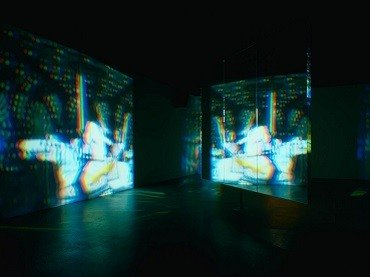 Bill Viola. Slowly Turning Narrative, 1992. Installation, Video. Museo Nacional Centro de Arte Reina Sofía Collection, Madrid