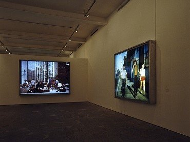 Exhibition view. Jeff Wall, 1994