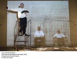 William Kentridge. Basta y sobra