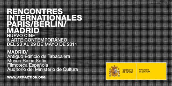 Rencontres Internationales Paris/Berlin/Madrid